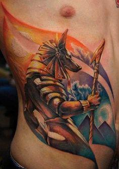 Die ägyptischen Götter Horus und Ra – Tattoo Spirit