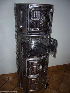 une table basse pour mailys avec un tambour de machine laver mes r alisations pinterest. Black Bedroom Furniture Sets. Home Design Ideas
