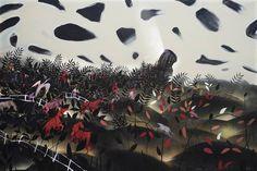 "Saatchi Art Artist Rolf Jansson; Painting; ""Dark clouds"" Acrylic Material, Old Pictures, Saatchi Art, Original Paintings, Clouds, Fantasy, Fine Art, Halloween, Dark"