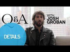 Josh Groban Takes Off His Pants to Play Video Games - Josh Groban Interv...