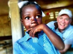 This adorable little girl in Haiti is patiently waiting in line for new shoes    giveshoes.org