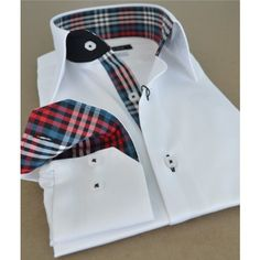 The #Slimcheckered #menshirts are the exquisite collection of the FrenchUpYourShirt's production.