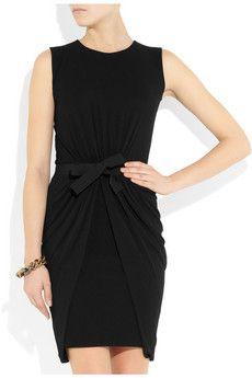 GIAMBATTISTA VALLI  Bow-embellished knitted dress