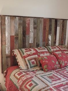 rustic reclaimed barn wood queen size bed frame with 6 storage