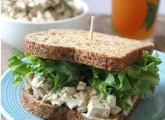 Homemade Chick'n Salad #easymeals #recipes