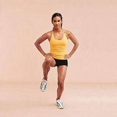 Do this 10-minute hips workout developed by Marcus Minier, exercise physiologist at The Gym in New York City, three times a week along with five days of cardio, and we guarantee that you'll have the slimmer hips you deserve in no time!
