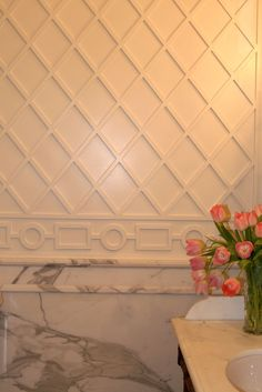 Detail lattice work for bathroom treillage Windsor Smith border detail Chateau Hotel, Lattice Wall, Online Interior Design Services, Moldings And Trim, Moulding, Wainscoting Styles, Wall Decor, Room Decor, Trellis Pattern