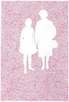 houkgallery: Sissi Farassat (Iranian, b. III, Farassat/Courtesy of Edwynn Houk Gallery Sissi, Map, Embroidery, Gallery, Iranian, Persona, Portraits, Design, Contemporary Art