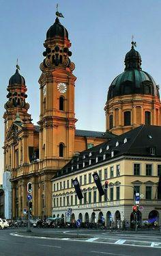 Odeonplace Munich Bavaria Germany