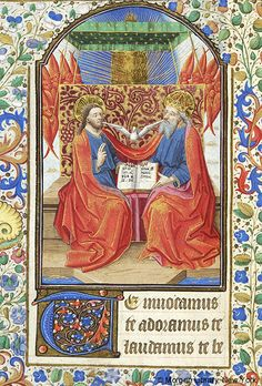 Book of Hours, MS fol. - Images from Medieval and Renaissance Manuscripts - The Morgan Library & Museum Medieval Books, Medieval Manuscript, Illuminated Manuscript, Oldest Bible, Imperial Crown, Life Of Christ, Morgan Library, Book Catalogue, Book Of Hours