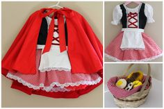 Little Red Riding Hood Costume for toddler