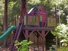 Barbara Butler: Treehouses FOR KIDS!