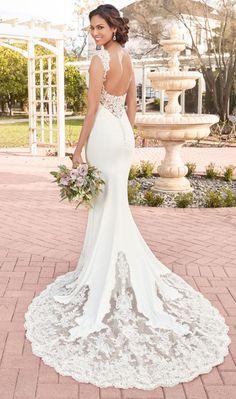 Featured Wedding Dress: Kitty Chen; www.kittychencouture.com; Wedding dress idea.