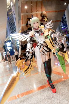 Warrior Rose, Graceful Valkyrie from Puzzles and Dragons