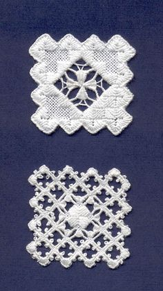 Hardanger embroidery...sqaures are sown together to make apron and shirt embellishments for bunads. Also used for linens