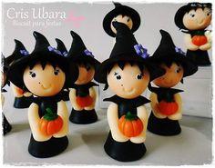 Apliques bruxinha #halloween #halloweenparty #festahalloween #kidsparty #festasinfantis #bruxinha