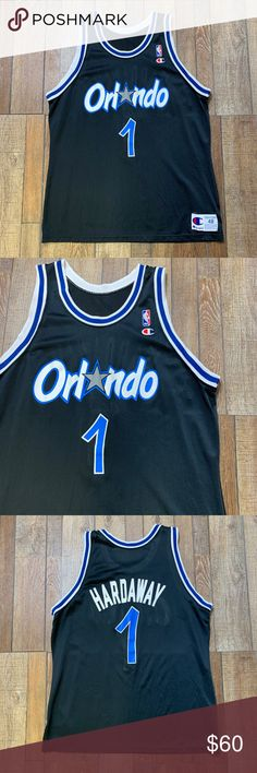 bdfd55d036e Penny Hardaway Orlando Magic Vintage NBA Jersey 48 Penny Hardaway  1 Orlando  Magic Vintage Champion