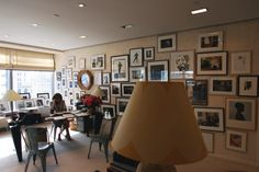 Anna  Wintour's Office September Issue