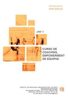 CURSO DE COACHING, EMPOWERMENT DE EQUIPAS