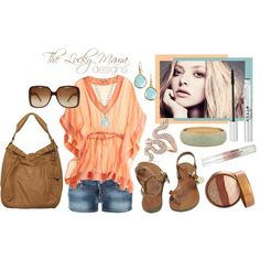 Summer Lovin, created by #theluckymama on #polyvore.
