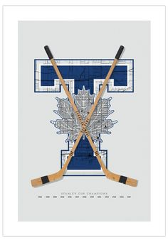 Toronto Maple Leafs-inspired Hockey Art Poster from ManMade Art for Guys' NHL hockey series makes a great gift for men, or decoration for any condo, apartment or man-cave! Toronto Maple Leafs Logo, Toronto Maple Leafs Wallpaper, Nhl Hockey Teams, Ice Hockey, Hockey Mom, Hockey Logos, Hockey Goalie, Hockey Girls, Sports Teams