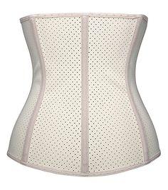 d99c2a55e13a7 YIANNA Women s Underbust Latex Sport Girdle Waist Training Corset Waist  Body Shaper at Amazon Women s Clothing store