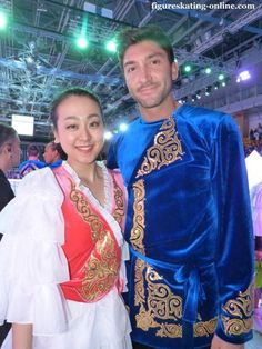 With Evan Lysacek(USA)