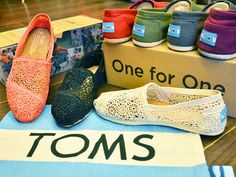 Very happy with the quality of the Toms Shoes. It is simply stunning. True to size description. Ordered from off the rack and I'm very happy with it.