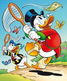 Imagens do Tio Patinhas para celular - Imagens para Whatsapp in 2020 Retro Disney, Disney Duck, Disney Mickey, Disney Art, Disney Pixar, Classic Cartoon Characters, Favorite Cartoon Character, Classic Cartoons, Comic Character