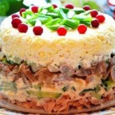 Этот салат на застольях уходит первым! По-царски вкусный.