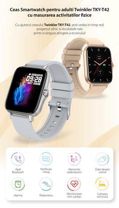 Smartwatch, Bluetooth, Watches, Fashion, Smart Watch, Moda, Wristwatches, Fashion Styles, Clocks