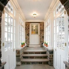 Traditional Home Enclosed Breezeway Design, Pictures, Remodel, Decor and Ideas