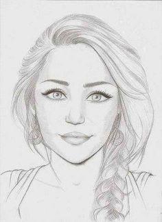 Miley Cyrus drawing
