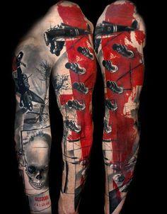 Художественная татуировка | #tattoo
