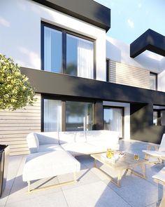Zdjęcie projektu HomeKoncept-52 D KRX1069 House Design, Mansions, House Styles, Outdoor Decor, Home Decor, Decoration Home, Manor Houses, Room Decor, Villas