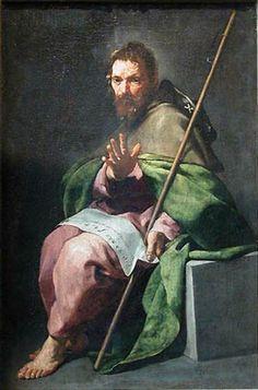 Alonzo Cano - St. James the Greater - c.1635, oil on canvas, 54 x 36 cm, Musée du Louvre, Paris, France