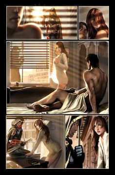 witchblade 105 page 7 top cow by nebezial on DeviantArt
