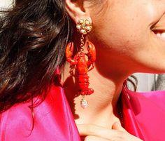 D&G lobster earring