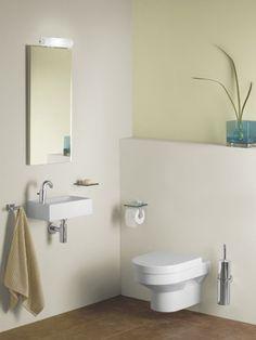 Salles de bains ALLIA - DIEDRO - LAVE-MAINS - LAVABOS EN CÉRAMIQUE Toilet, Bathroom, Bathroom Sinks, Bath, Hands, Washroom, Flush Toilet, Full Bath, Toilets