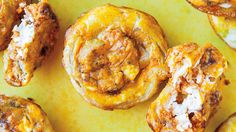 Parmesan and Cream Cheese Pumpkin Puffs from Averie Sunshine's COOKING WITH PUMPKIN (The Countryman Press, 2014) On sale now! via The Huffington Post