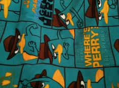 Perry the Platypus Fabric!!!