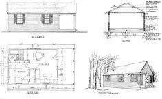 Log Home Plans: 11 Totally Free DIY Log Cabin Floor Plans