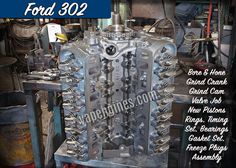 Ford 302 remanufactured engine