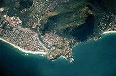 Barra da Tijuca do alto. Rio de Janeiro