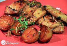 Un plato aromático, rico y sano, muy fácil de preparar: Una pechuga del pollo jugosa y con un toque especial que recuerda a la cocina árabe.