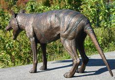 Phenomenal thylacine sculpture! Available on EBay.