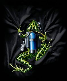 shirt Scuba Diving Amphibious Outfitters Scuba Frog