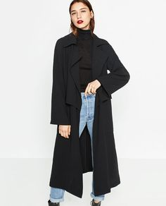 Image 2 of FLOWING TRENCH COAT from Zara