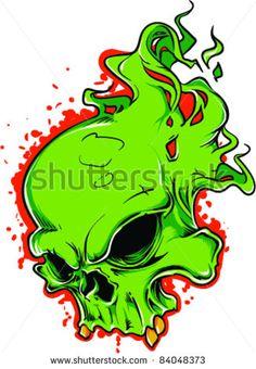 Vector Tattoo Skull