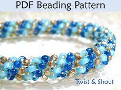 Bead Stitching Tutorials, Tubular Peyote, How to Stitch